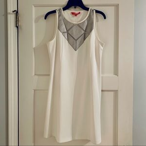 NWT Catherine Malandrino White Dress